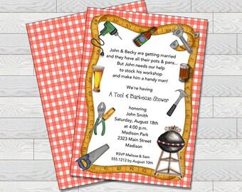 Handyman Invitation | Bridal Shower  | Printable Digital File | WSI239DIY