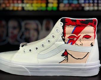 Ziggy Stardust Vans Sk8-Hi
