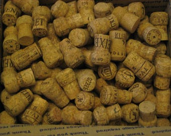 300 Natural Used Champagne Corks