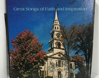 Great Songs Of Faith And Inspiration 4xLP vinyl record box set 1972 EX/NM Gospel Country