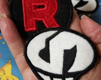 Team Rocket and Team Skull Sew On Patches