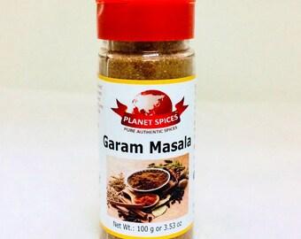 Garam Masala 100 g Premium Jar | Free Shipping Worldwide