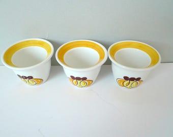 Egg Cups Holders - Stavangerflint SOLEI Inger Waage Norwegian Scandinavian Set of Three