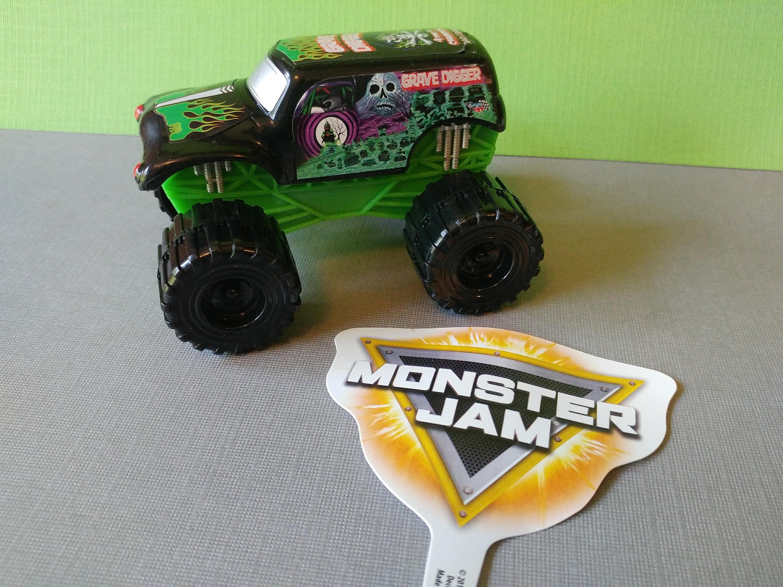 Monster Jam Birthday Cake Topper