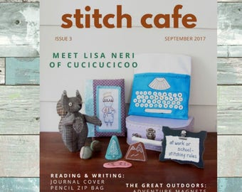 Stitch Cafe Issue 3 September 2017 - digital craft magazine PDF