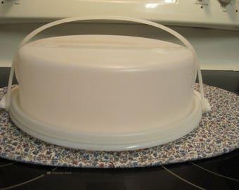 Vintage Tupperware Cake Taker 1980,s