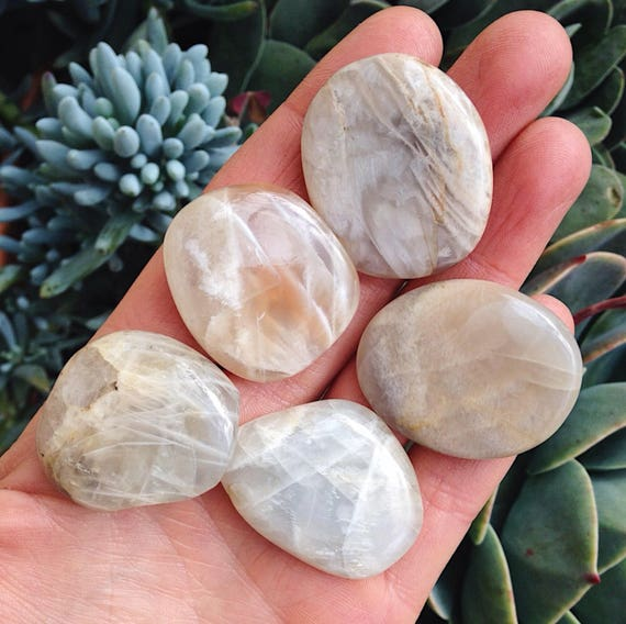 Cream Moonstone Flatstone
