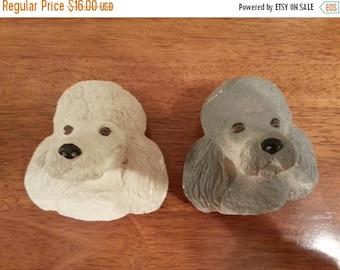 On Sale - Decorative Poodle Heads