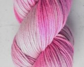 Sock Yarn, Flamingo with a Chance of Cloudy
