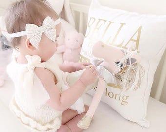 3-6 months - Sitter props - Sitter romper - Baby girl props - Photo props - Sitter girl props - Baby photo prop - Sitter girl romper - Cream