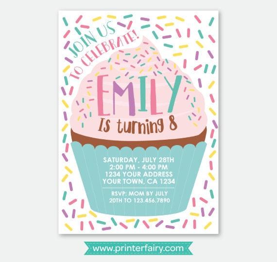 Cupcake invitation baking party invitation cake invitation il570xn filmwisefo