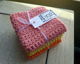 Crochet  / Cotton Dish Cloths