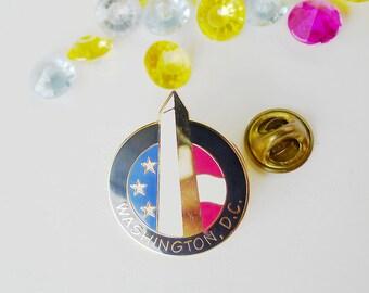 Washington Monument Pin, Free Shipping, Washington DC Collectible, Obelisk Monument, National Monument, Washington DC, District of Columbia