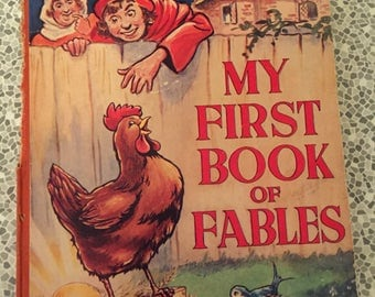 1960's My First book of fables by Arthur Manbridge