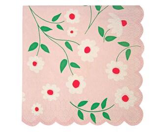 Meri Meri I'm a Princess scallop napkin set of 20