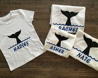 Group Price* Family Sea World Whale Tale Shirts