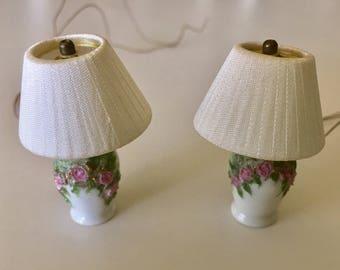 Pair of Ginger Wyatt Lamps