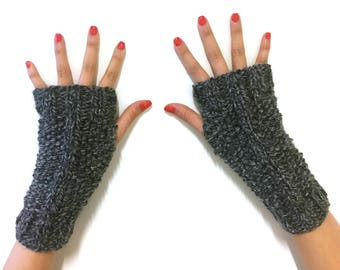 Moss Stich Fingerless Glove