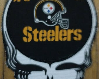 Steal your Steelers iron on patch