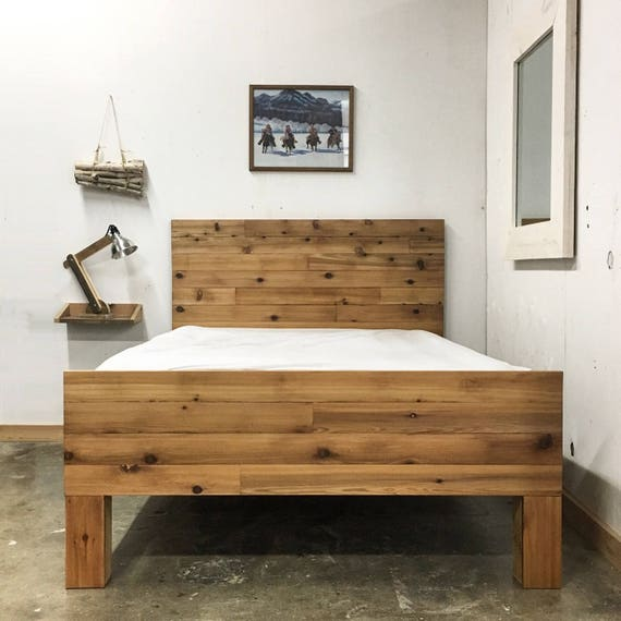 the thames handmade wooden bed frame alpine sleigh platform bed frame headboard set handmade in 5659