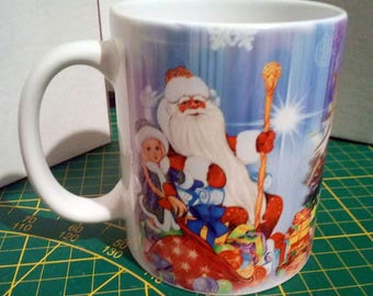 Mug customisable Christmas theme