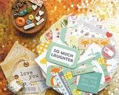 Mini Album Kit / Mini Scrapbook Kit / Mini Book / Gender Neutral Baby / Baby Boy / Baby Book / Baby Gift / Scrapbook Kit / Baby Album