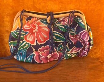 Liz Claiborne Floral Beach Bag