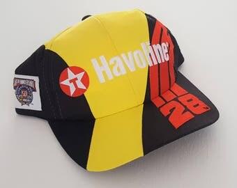 Vintage Havoline Robert Yates Snapback Hat NASCAR VTG