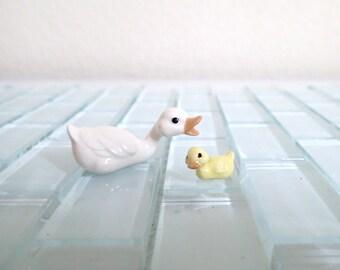Hagen Renaker Duck Duckling Miniature Figurine Retired