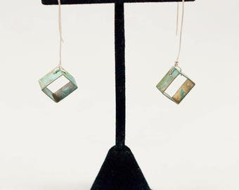 Bermuda Square Drop Earrings 2