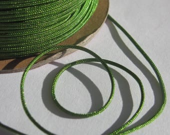 1 meter of colorful jewel 1 mm - (70 cotton thread cord