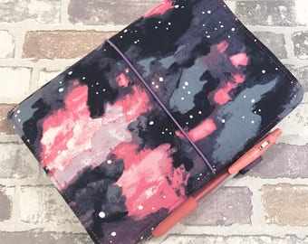 Fabric Travelers Notebook - Various  Sizes -Made to Order