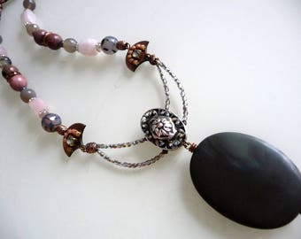 Ethnic chic necklace hope of summer