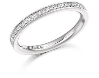 Platinum Diamond Eternity RingsPlatinum Womens Wedding BandMatching RingsAnniversary