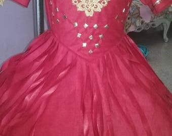Western wear toddler pageant dress special occasion