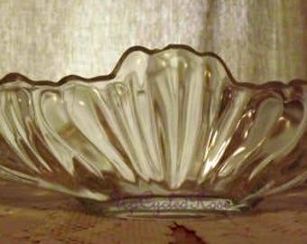 Vintage Glass Vase Farmhouse Wedding Decor Ships Free in USA Next Day
