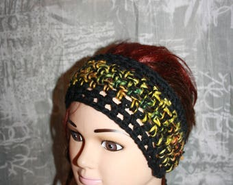 headband made of wool/acrylic, very convenient