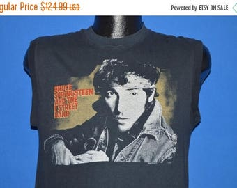 ON SALE 80s Bruce Springsteen Born In The USA Tour 1984 t-shirt Medium