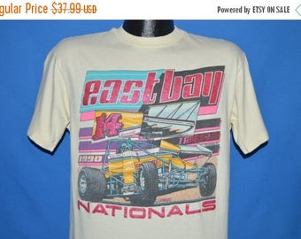 ON SALE 90s East Bay Nationals Tampa Florida t-shirt Medium