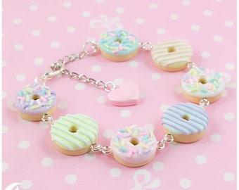Cream Doughnut Bracelet