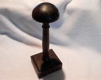 Antique French Wooden Hat Stand, c. 1920