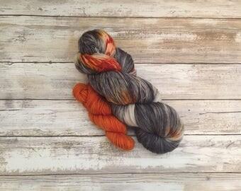 Trick Or Treat   Fluffy Sock Yarn   100 grams   462 yards   20 gram mini   Fingering Weight