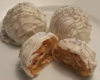 French Vanilla Vienna Cookie Cake Balls Cake Truffles Cake Bites 1 Dozen Cake Balls