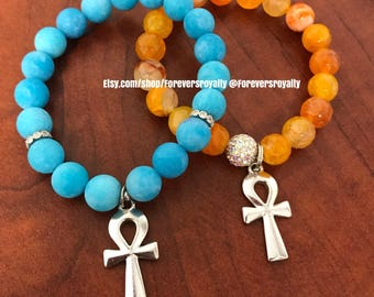 The silver ankh