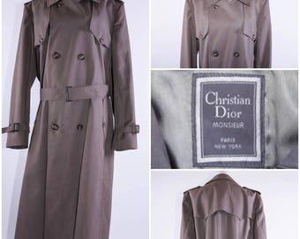Christian Dior Men's Trenchcoat