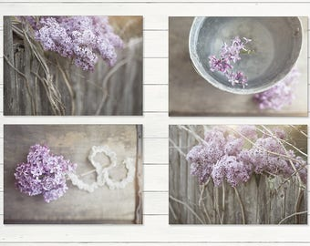 Farmhouse Decor, Lilacs, Country Decor, Rustic Wall Art, Country Print, Rustic Country, Landscapes, Prints, Canvas, Farm Art, French Country