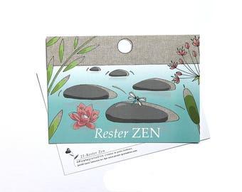 """Postcard """"Stay Zen"""""""