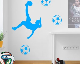 Football Players Wall Stickers Figures A69