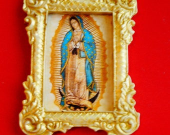 "Dollhouse Framed Print ""Lady of Guadalupe"""