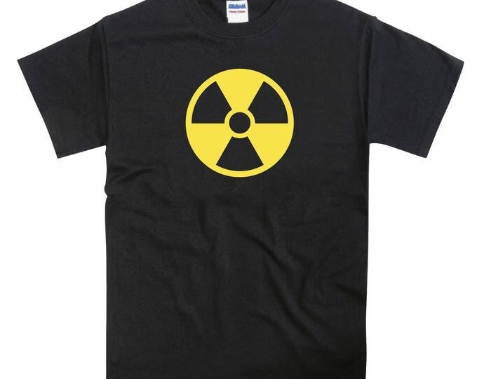 Radiation Symbol Tshirt T-Shirt Tee Top